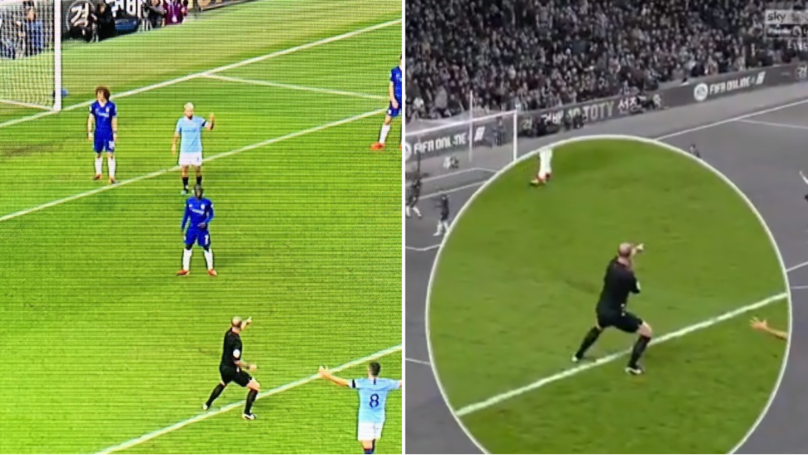 Mike Dean Goes Full Mike Dean As He Points To The Spot In Extravagant Fashion