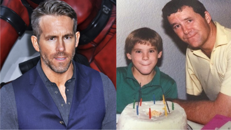 ​Ryan Reynolds Shares Hilarious Message From Late Father In Throwback Birthday Post