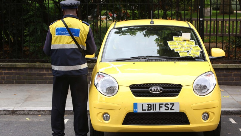 This Guy Has A Top Tip For Not Paying Parking Tickets