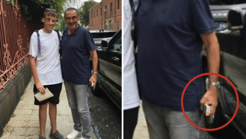 Juventus 'Irritated' By Maurizio Sarri After He Refused To Stop Smoking Even While Struggling With Pneumonia