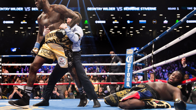 ​Deontay Wilder Tells Anthony Joshua: 'I Declare War Upon You' Following Win Against Bermane Stiverne