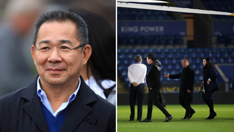 Leicester City Owner Vichai Srivaddhanaprabha Reportedly On Board Crashed Helicopter