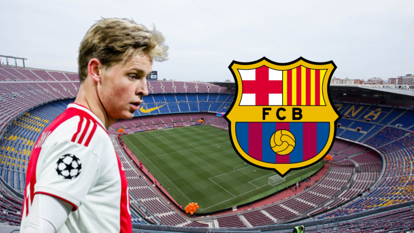 Ajax Star Frenkie De Jong Has Outlined His Ambitions At Barcelona