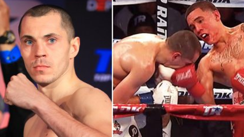 Scott Quigg Suffers Nasty Broken Nose Against Valdez, Pictures Are Truly Gruesome