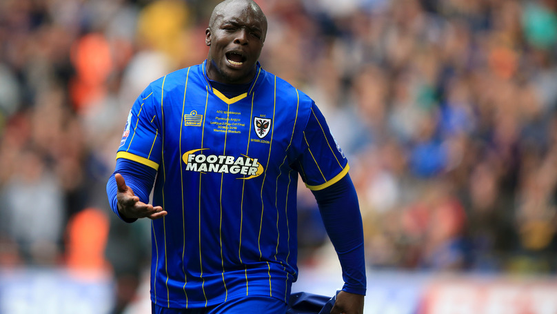 A Look At The Evolution Of Adebayo Akinfenwa On FIFA Through The Years