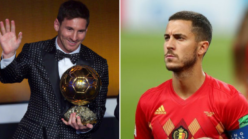 Eden Hazard Reveals His 2018 Ballon D'Or Winner
