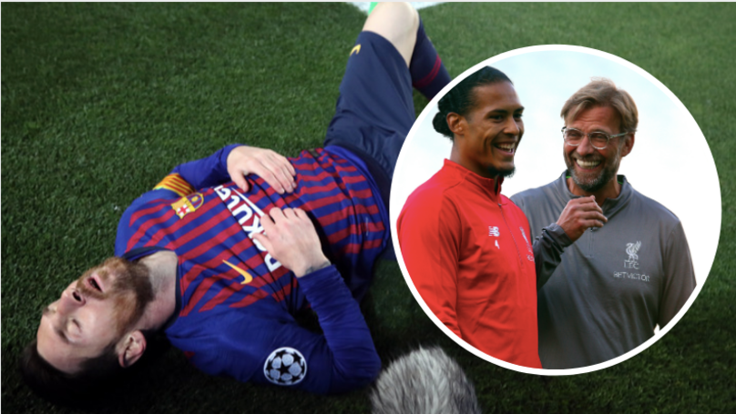 Virgil Van Dijk Explains How To Deal With 'Best Player In The World' Lionel Messi