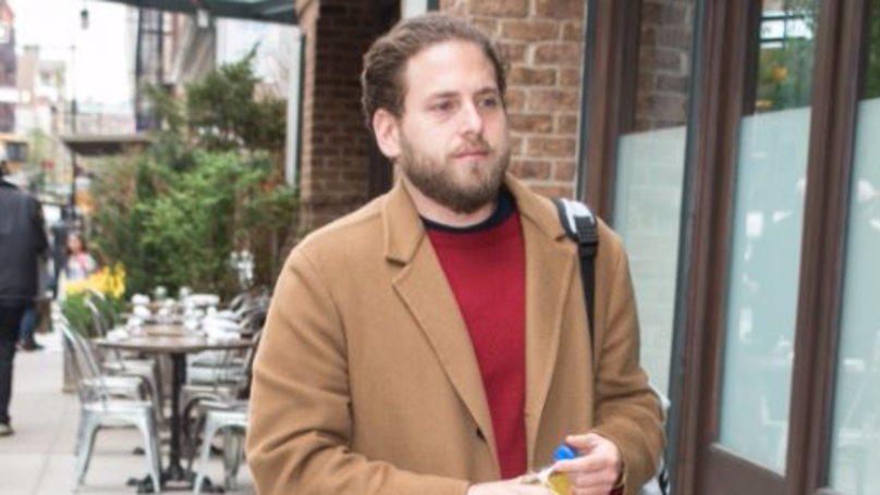 Jonah Hill Is Being Compared To Rapper Post Malone Over Movie Role Outfit