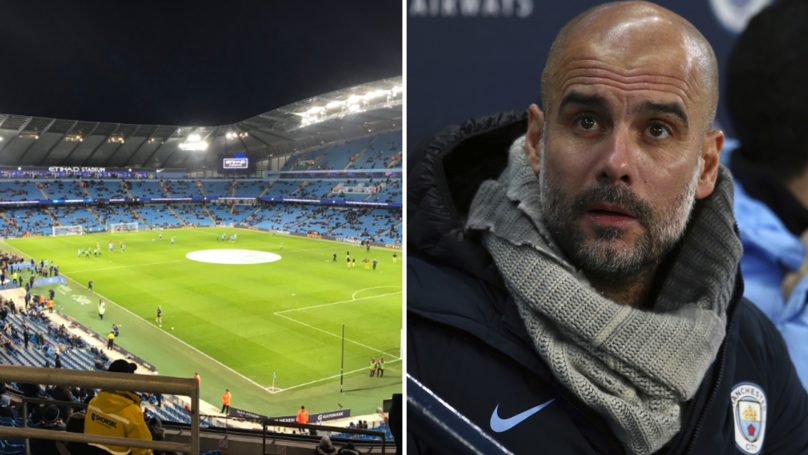 Fans Are Embarrassed With How Empty The Etihad Is For City's EFL Cup Match
