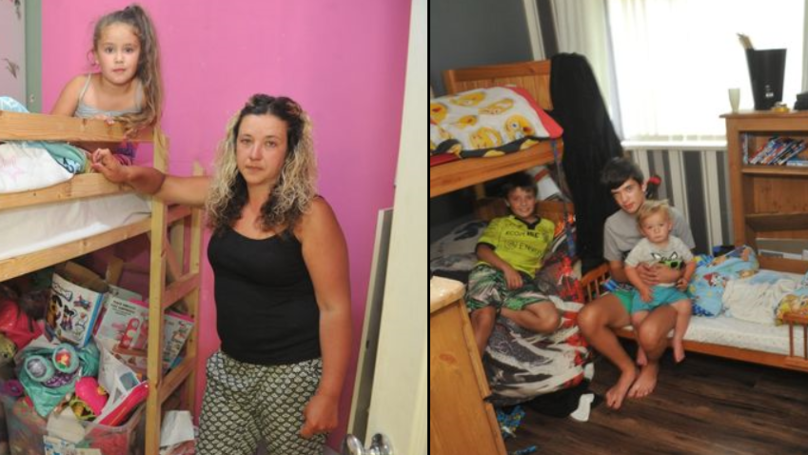 Mum's Housing Hell As Daughter 'Sleeps In Cupboard' Because Council Home Is So Small