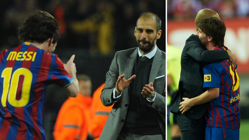 Lionel Messi Welcomes The Idea Of Working With Pep Guardiola Again