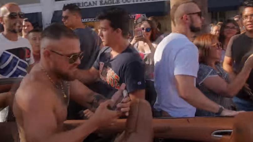 Conor McGregor Prank Causes Absolute Mayhem In Los Angeles