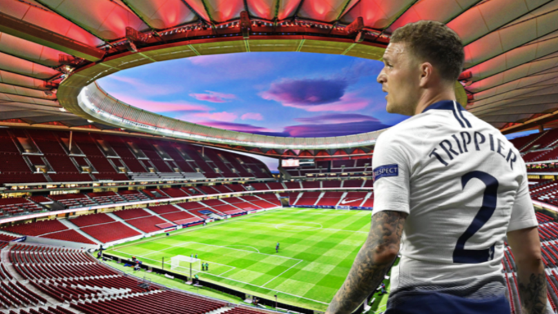 Kieran Trippier Set To Sign For Atletico Madrid For £25 Million