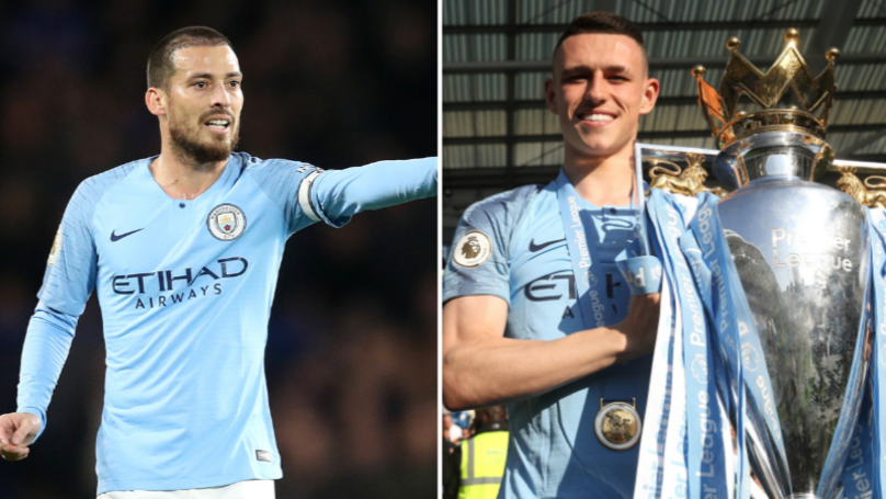 David Silva Names Phil Foden As Man To Replace Him At Manchester City