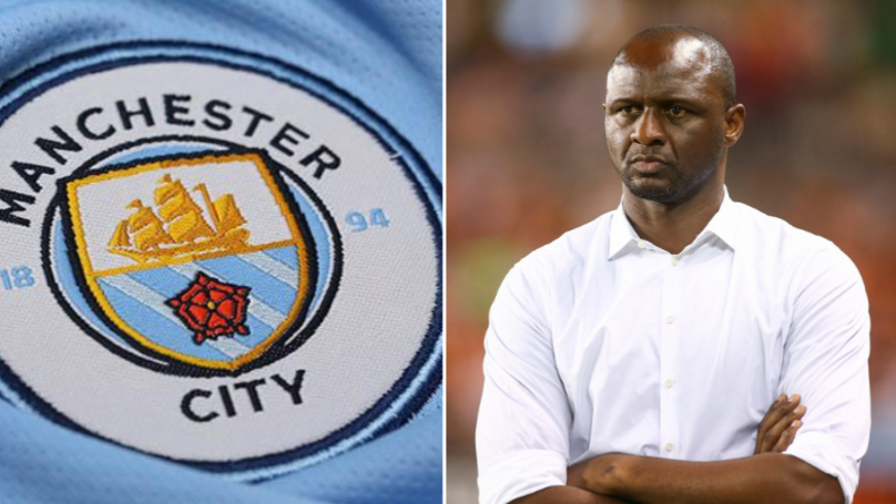 Patrick Vieira Wants Manchester City Reunion At Nice