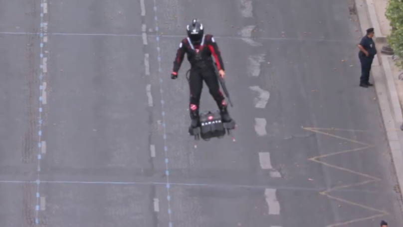 Flying Hoverboards Could Be Future Military Device After Bastille Day Demonstration
