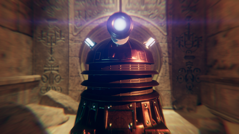 ​We Went Face First With Virtual Reality Game 'Doctor Who: The Edge Of Time'