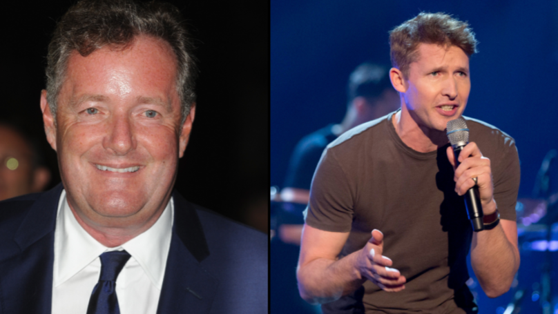 James Blunt Lays Into Piers Morgan On Twitter And Causes A Celebrity Meltdown