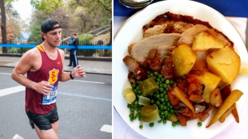 This Is How Long It Will Take You To Run Off Your Christmas Dinner