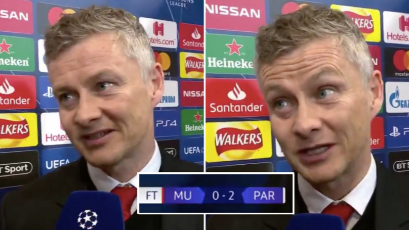 How Ole Gunnar Solskjaer Reacted In Post-Match Interview On February 12th Is Inspirational