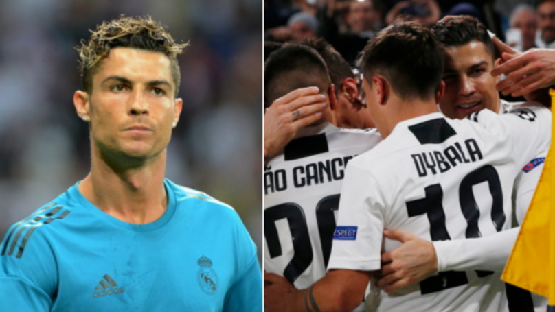 Cristiano Ronaldo Aims Sly Dig At Real Madrid When Comparing Them To Juventus