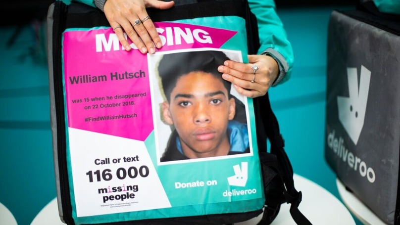 Deliveroo Riders To Carry Images Of Missing People On Their Backpacks