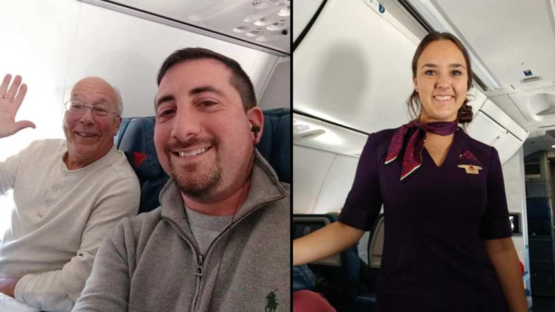 Dad Takes Six Planes To Spend Time With Flight Attendant Daughter On Christmas Day