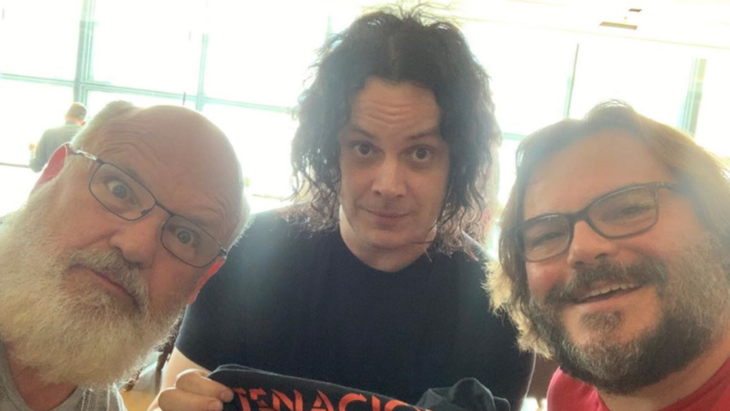 Jack Black And Jack White Have Finally Met, Which Is Quite Satisfying