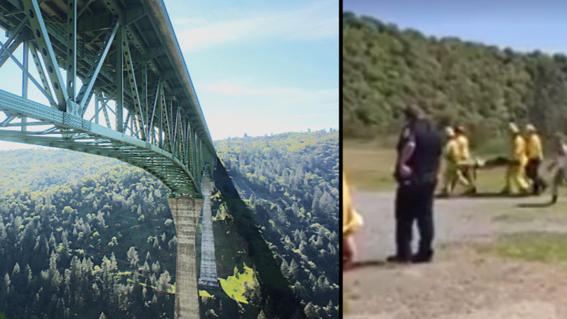 Woman Survives 60ft Fall After Trying To Take Selfie On Bridge