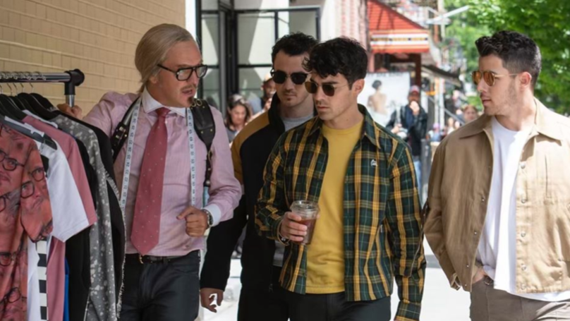 Chris Lilley's Keith Dick Met The Jonas Brothers To Give Them Some Fashion Advice
