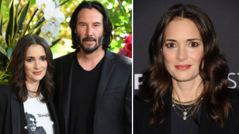 Winona Ryder Thinks She's Married To Keanu Reeves