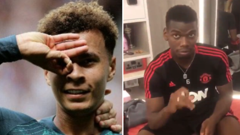 Manchester United Players Attempt The 'Dele Alli Challenge'