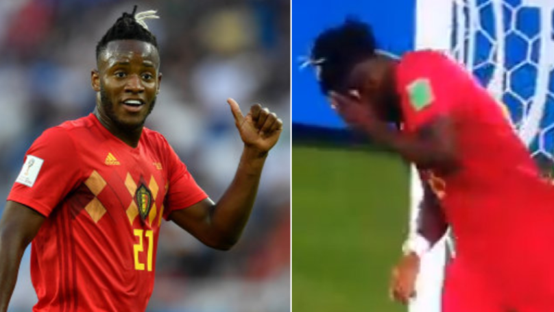 Michy Batshuayi Reacts To Booting The Ball In His Own Face With Hilarious Tweet