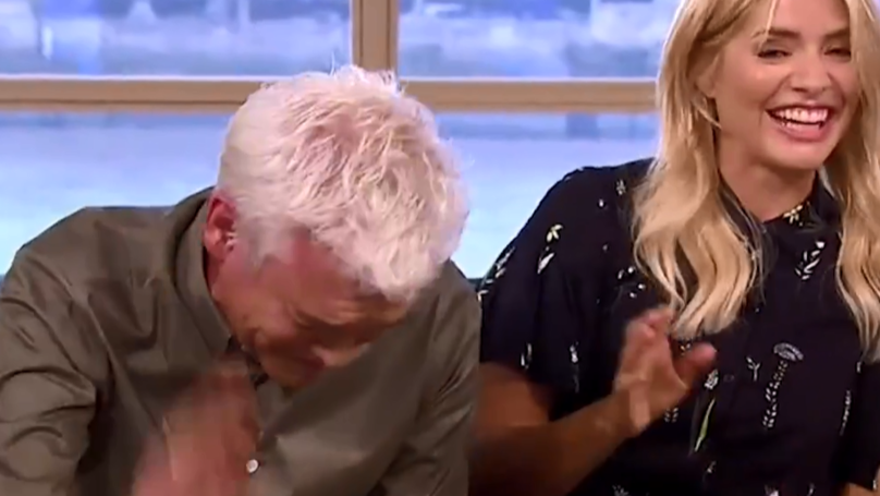 Phil And Holly Lose It After Hilariously Risqué Pun On 'This Morning'