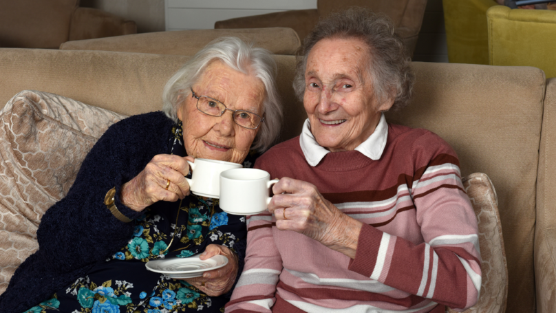 Elderly Best Friends Reunited In Care Home By Coincidence