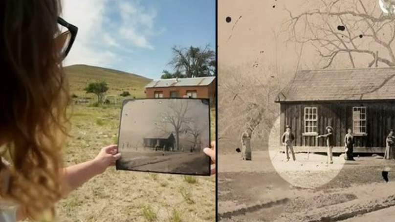 Man Buys Old Photo From Charity Shop For £1.50, Finds Out It's Worth Millions