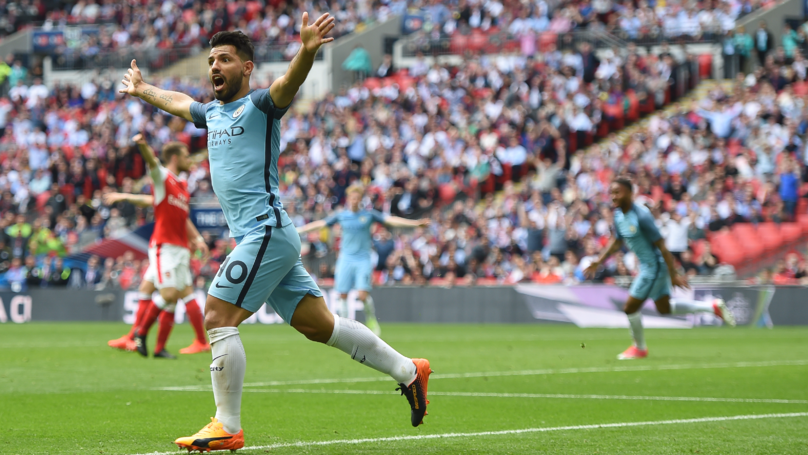 Sergio Aguero Will Wear A Beautiful Pair Of Custom Boots Against Manchester United | SPORTbible