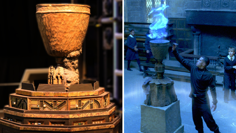 The Goblet Of Fire Is Finally Part Of The Warner Bros. Harry Potter Tour