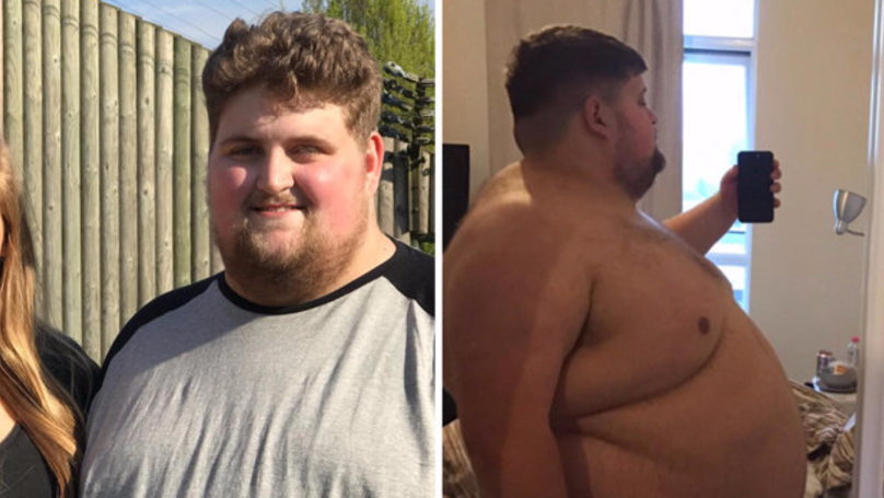 Man Who Spent £5,000-A-Year On Takeaway Slims Down By Ten Whole Stone