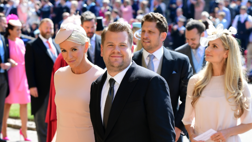 ​James Corden Almost Ruined A Crucial Moment Of The Royal Wedding