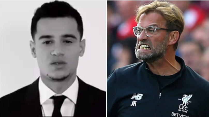 Philippe Coutinho Sends Out Father's Day Tweet, Liverpool Fans Fume At Him