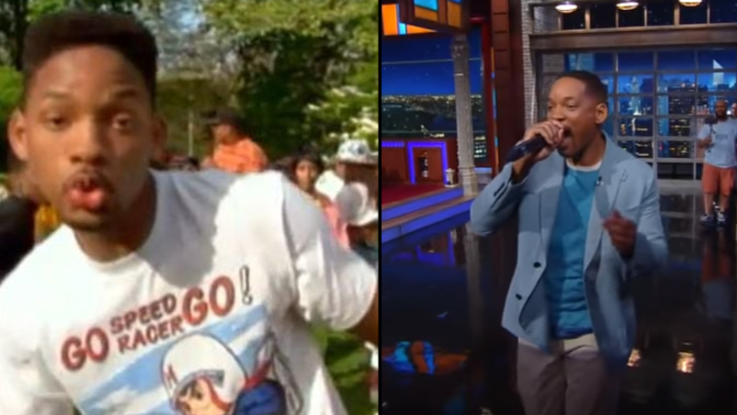 Will Smith Rolls Back The Years With An Impromptu Performance Of 'Summertime'