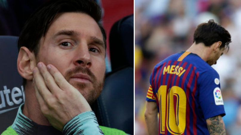There Is A 'Complete Breakdown' In Lionel Messi's Relationship With Barcelona Teammate