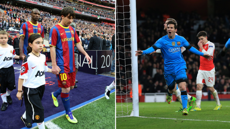 Lionel Messi Has Scored More Champions League Goals Vs. English Clubs Than Any Other Country