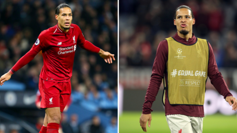 Virgil Van Dijk Says There Isn't A Best Defender In The World