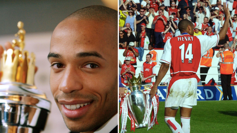 Thierry Henry Voted The Best Overseas Player In Premier League History