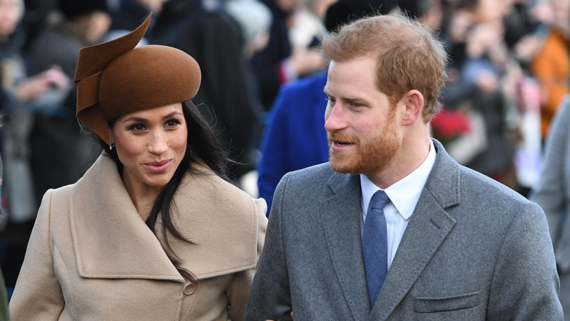 ​The Internet Thinks Meghan Markle's Hat Looks Like The Poo Emoji