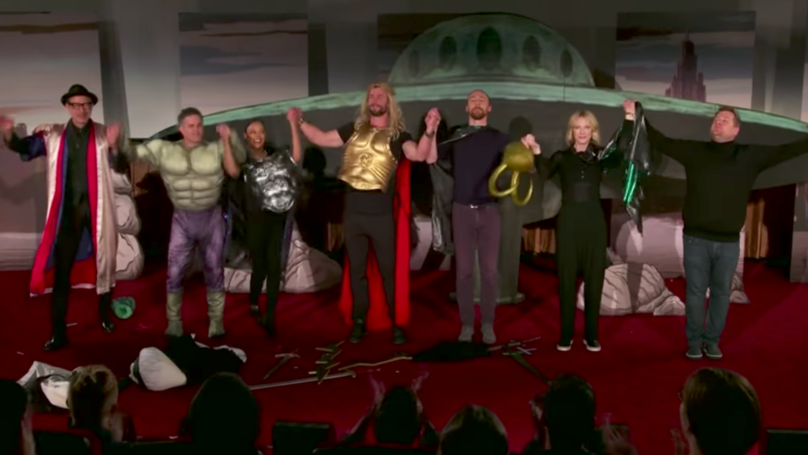 'Thor: Ragnarok' Cast Act Out Low-Budget Live Version For James Corden