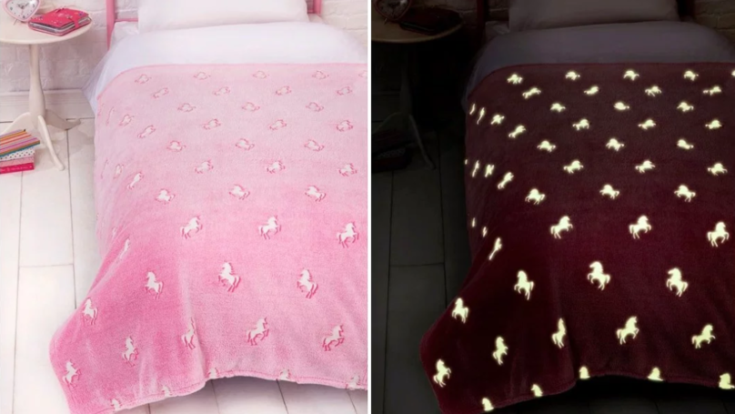 B&M Is Selling Glow-In-The-Dark Unicorn Duvets And Homeware For Kids
