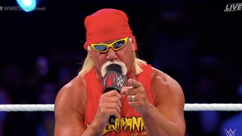Hulk Hogan Makes His Return To WWE At Crown Jewel